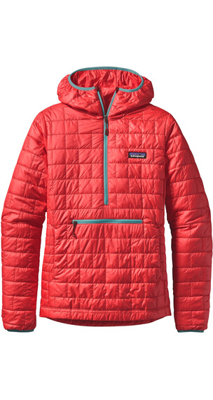 Patagonia W's Nano Puff Bivy Pullover French Red